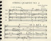 Karchin, Louis: SCORE String Quartet No.2