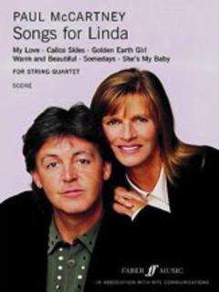 Alfred Music McCartney, P.: (Score) Songs for Linda (string quartet)