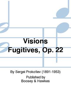 HAL LEONARD Prokofiev, S. (Samsonov): Visions Fugitives String Quartet, Op. 22 (SCORE)