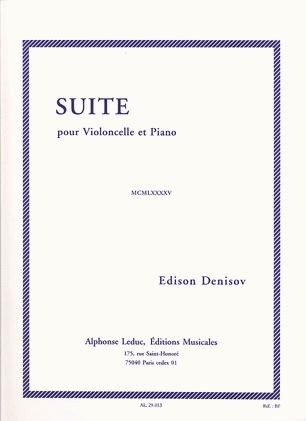 Carl Fischer Denissow, Edison: Suite (cello & piano)