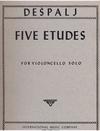 International Music Company Despalj, Valter: Five Studies (cello)