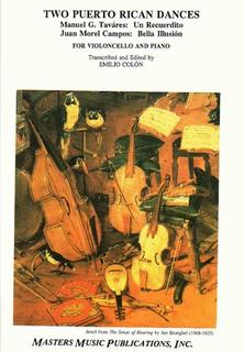 LudwigMasters Tavares, Manuel and Campos, Juan (Colon): Two Puerto Rican Dances (Cello & Piano)