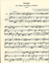 Bach (Anon?): Sonate for Violin & Basso Continuo BWV153 (violin, cello & piano)