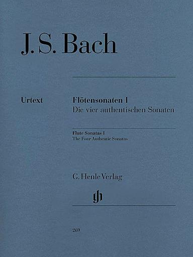 HAL LEONARD Bach, J.S.: Sonatas for Flute, Cello & Piano, Vol.1, urtext