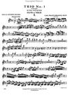 International Music Company Bach, C.P.E.: Trio No. 1 (violin (flute), viola (clarinet), piano)