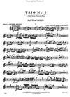 International Music Company Bach, CPE: Trio No.2 in a minor (violin, viola, piano)(flute, viola, piano)