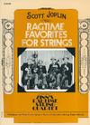 Alfred Music Joplin, Scott (Zinn): Ragtime Favorites for String Quartet (score)