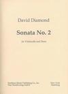 Carl Fischer Diamond, David: Cello Sonata No.2 (cello & piano)