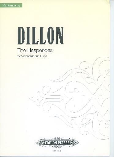 Dillon, J.: The Hesperides (cello & piano)