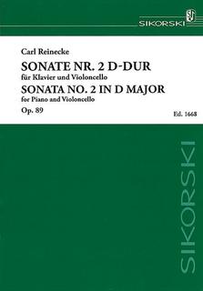 HAL LEONARD Reinecke, Carl: Sonata No. 2, Op. 89 in D major (cello & piano)