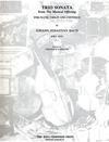 LudwigMasters Bach, J.S.: Trio Sonata-The Musical Offering BWV 1079 (2 violins, cello, piano)