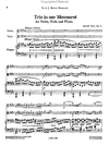 Bax, A.: Trio in One Movement, Op. 4 (violin, viola, and piano)
