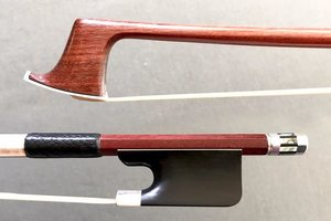 Viola bow, ebony/silver, better