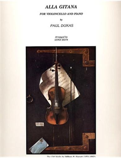 LudwigMasters Dukas, Paul (Silva): Alla Gitana for cello & piano