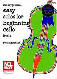 Duncan, Craig: Easy Solos for Beginning Cello (cello & piano)