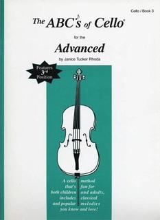 Carl Fischer Rhoda: The ABC's of Cello for the Advanced, Bk.3 (cello)