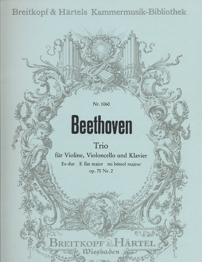 Beethoven, L. van: Piano Trio No. 6 Op. 70 No.2 in Eb majori   (violin, cello & piano)