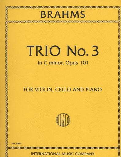 International Music Company Brahms, Johannes: Piano Trio in c minor Op.101 (violin, cello, piano)