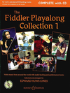 HAL LEONARD Jones, E.H. (ed.): The Fiddler Playalong Collection 1 (2 violins, chords, piano, and CD)