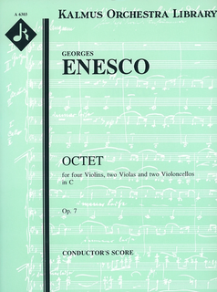 Kalmus Enesco, G.: (Score) Octet in C Major, Op.7 (string octet)
