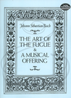 Dover Publications Bach, J.S.: (score) The Art of the Fugue & A Musical Offering (mixed ensemble) Dover Publications