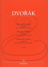 Barenreiter Dvorak (Jiri Gemrot): Slavonic Dances, Op.46 (cello & piano) Barenreiter