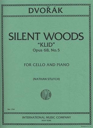 International Music Company Dvorak, Antonin (Stutch): Waldesruhe ''Silent Woods''(cello & piano) IMC