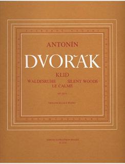 Barenreiter Dvorak, Antonin: Waldesruhe/Silent Woods Nr. 5 op. 68 (cello & piano)