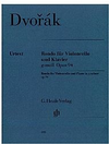 HAL LEONARD Dvorak, A. (Pospisil, ed.): Rondo in G Minor, Op.94, urtext (cello & piano)