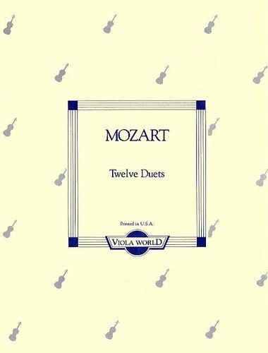 Mozart, W.A. (Arnold): 12 Duets (2 violas)