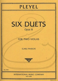 International Music Company Pleyel (Paasch): Six Duets, Op.8 (2 violas) International