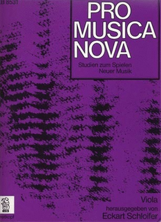 Schloifer, Eckart: Pro Musica Nova (viola)