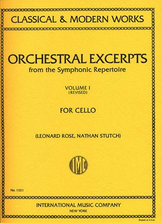 International Music Company Rose, Leonard: Orchestral Excerpts Vol.1 revised (cello) IMC