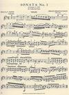 International Music Company Bach, J.S. (David): Sonatas for Violin & Piano S1014-1016 Vol.1