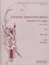 HAL LEONARD Bach, J.S. (Reger): Sonata #2 in A major (violin & piano)