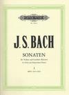 Bach, J.S.Sonaten-Sonatas for Violin and Harpsichord (piano) Vol.1