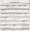 HAL LEONARD Harbison, John: Fantasy Duo (violin & piano)
