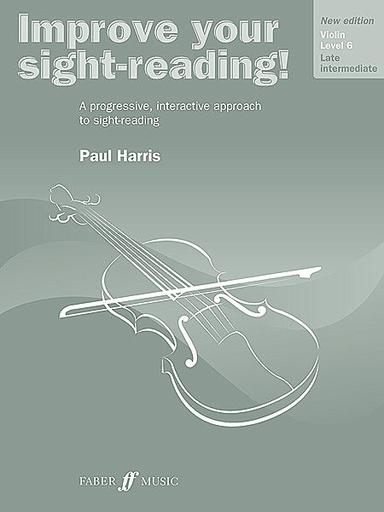 Alfred Music Harris, Paul: Improve Your Sight-Reading! Grade 6 (violin)