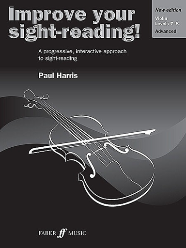 Alfred Music Harris, Paul: Improve Your Sight-Reading! Grades 7-8 (violin)