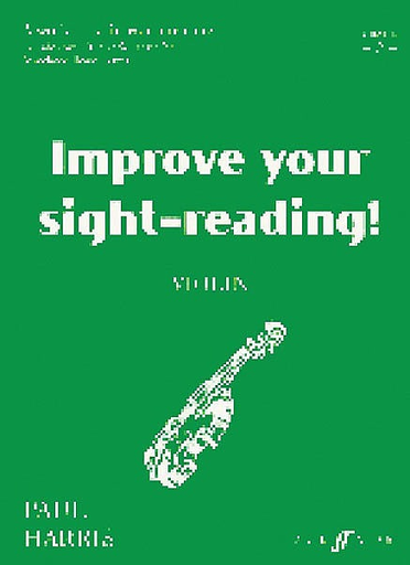 Alfred Music Harris, Paul: Improve Your Sight-Reading! Grade 2 (violin)