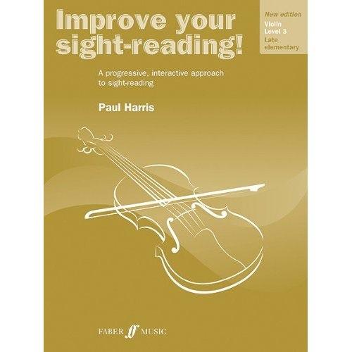 Alfred Music Harris, Paul: Improve Your Sight-Reading! Grade 3 (violin)