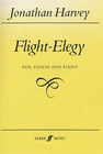 Faber Music Harvey, Jonathan: Flight-Elegy (violin & piano)