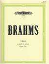 Brahms: Trio Op.114 in a minor (clarinet, cello, piano) or (viola, cello, piano) or (violin, cello, piano)
