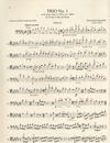 International Music Company Brahms, Johannes: Trio No.1 in B Major, Op.8 (violin, Cello & piano)