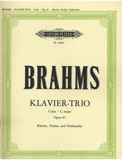 Brahms, J.: Trio in C, Op. 87 (violin, cello, piano)
