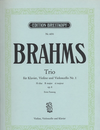 Brahms, Johannes: Trio No. 1 in B major, Op.8 (violin, Cello & piano)
