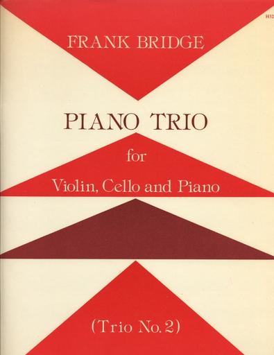 Stainer & Bell Ltd. Bridge, Frank: Piano Trio No. 2 (violin, Cello, Piano)