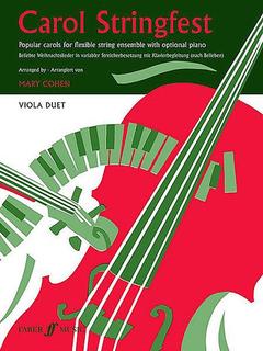 Faber Music Cohen, Mary: Carol Stringfest (2 violas)