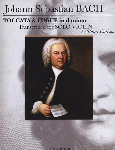 HAL LEONARD Bach, J.S:. (Carlson)Toccata & Fugue in D minor (violin)