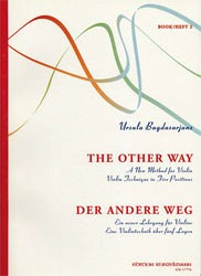 Bagdasarjanz: New Method Vol.2 ''The Other Way'' (violin & piano)
